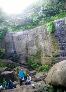 ユツン3段の滝
